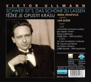 Rear page of CD